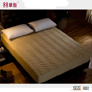 1800 Series Microfiber Quilted Mattress Cover pictures & photos