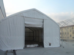 PVC Covered Outdoor Storage Tents with Galvanized Truss Steel Frame pictures & photos