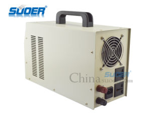 Suoer 12V 1000W UPS Inverter Solar Power Inverter with Built-in Charger 20A (HPA-1000C White) pictures & photos