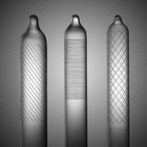 Glass Ribbed Condom Former pictures & photos