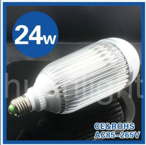 E27 Base 24W LED Bulb Light Cool/ Warm White, Commercial, Engineering, Indoor Lighting