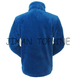 Men Fake Fur Faux Fur Polyster Fabric Leisure Jacket Sports Wear pictures & photos