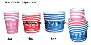 12/16/20oz Offset or Flexo Print Disposable Ice Cream Cups (YHC-075) pictures & photos