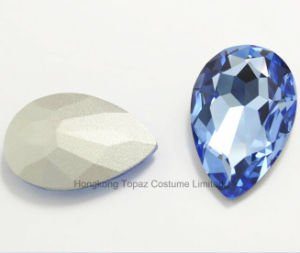 Tear Drop Crystal Glass Beads Pointed Back Rhinestones (TP-127 tear drop 10*14mm) pictures & photos