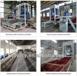 Tianyi Fireproof Insulation Brick Machine Foam Concrete Production Line pictures & photos