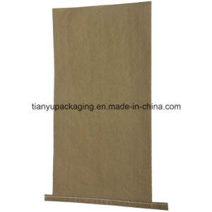 Customized Multi-Ply Paper Flour Sewn Bottom Open Mouth Bag pictures & photos