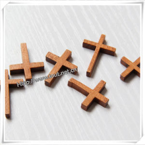 Small Wooden Crosses for Crafts / Wooden Cross (IO-cw023) pictures & photos
