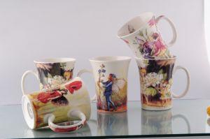 New Bone China Tulip Mug (CZJM1125)