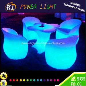 Events Party Furniture 16 Colors LED Bar Armchair pictures & photos
