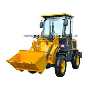 Low Price 0.8ton Mini Wheel Loader with CE pictures & photos