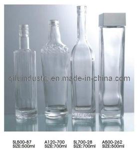 500ml/700ml Glass Vodka Bottle