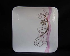 Porcelain Square Plate pictures & photos