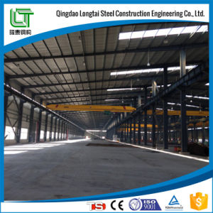 Prefabricated Light Steel Structure Warehouse Buildings with Canopy pictures & photos