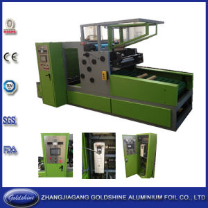 Automatic Aluminum Foil Roll Cutting Machine (GS-AF-600) pictures & photos