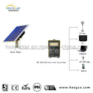 Ce Approved Eco-Friendly Solar Power Kits/12V Solar Power Generator/Solar Lighting Kit pictures & photos