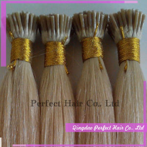Blond 100 Keratin Tipped Human Hair Extension pictures & photos
