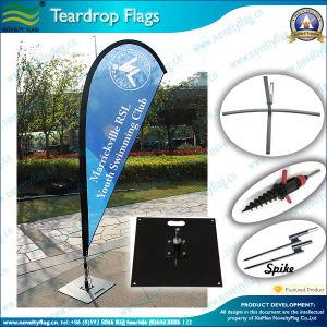 Outdoor Displayed Teardrop Flag, Beach Flags (J-NF04F06052) pictures & photos