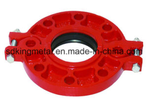 Epoxy Coating Ductile Iron 300psi Threaded Flange pictures & photos