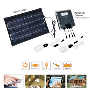 Solar Power System for Lighting