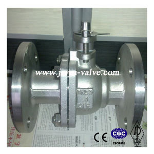 DIN Stainless Steel Floating Ball Valve pictures & photos