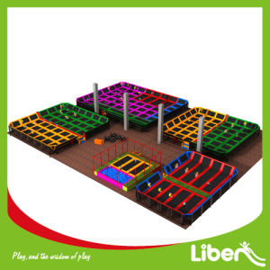 Professional Gym Olymppic Trampoline Park with Dogeball pictures & photos