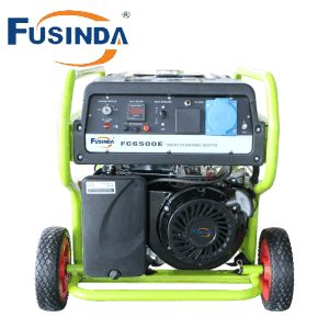 5kw Gasoline Generator with Famous Senci Alternators. 100%Copper (FC6500E) pictures & photos