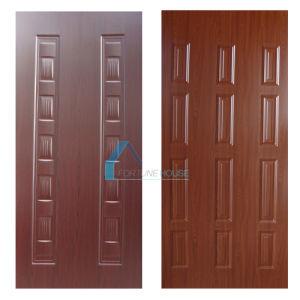 Cherry/Dark Walnut Melamine HDF Door Skin pictures & photos
