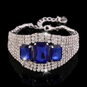 2015 Stainless Steel Jewelry Crystal Bracelet