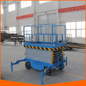 10m Manual Hydraulic Scissor Lift with Ce Certificate pictures & photos