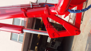 Quality 21m 25m 27m 28m 29m Small Concrete Boom Pump Truck on Sale Made in China pictures & photos