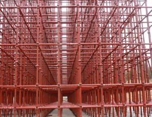 Cuplock Scaffold Bracing/Scaffold Parts/Formwork Support pictures & photos