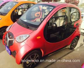Fashion Electric Mini Car 4 Wheeler Passenger Rickshaw Tricycle (EC-04) pictures & photos