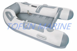 Hypalon/PVC Inflatable Boat with Slatted Wood Floor Type (TF-SW) pictures & photos
