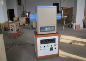 High Temperature Electric Tube Furnace with CVD System pictures & photos