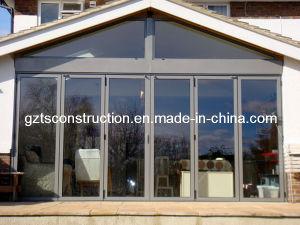 Double Glazing Soundproof Aluminum Bi-Fold Door pictures & photos