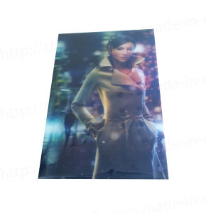 Lenticular promotion card (3D136) pictures & photos