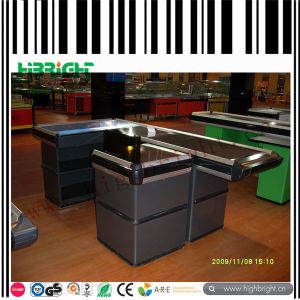 Supermarket Cashier Checkout Counter pictures & photos