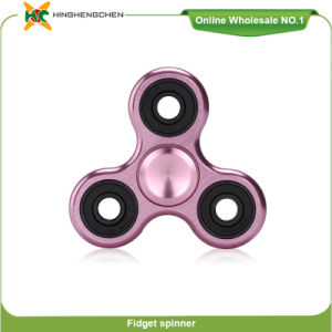 Wholesale New Product Tri-Spinner, Finger Spinner Fidget Steel Ball Aluminum and Copper Toys pictures & photos