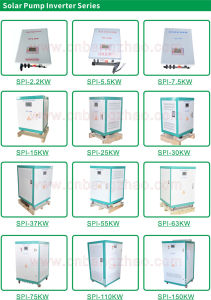 Solar Inverter 55kw to 150kw DC to AC Solar Pumping Inverter pictures & photos
