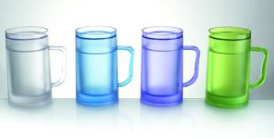 Plastic Beer Cup with Handle pictures & photos