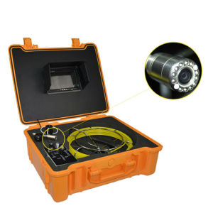 China Supplier Waterproof Sewer Inspection Camera for 10mm-400mm Pipe Inspect pictures & photos