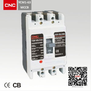 Ycm1 Motorized MCCB Circuit Breaker pictures & photos