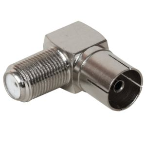 Right Angle PAL Female to F Female Connector Brass &Zinc pictures & photos