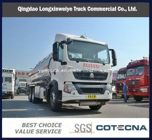 HOWO T5g 22000L Oil Truck Fuel Tanktruck pictures & photos