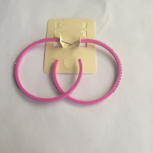 Simple Large Circle Colorful Earrings Fashion Jewelry Decoration pictures & photos