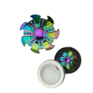 2017 Manufacture Colorful Ceramic Bearing Metal Fidget Spinner pictures & photos