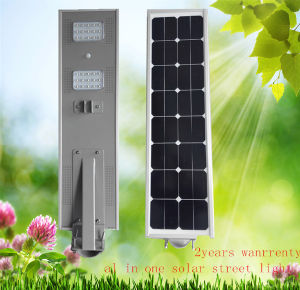 All in One Solar LED Street Light 30W Solar Street Light with Ce RoHS 3year Warranty pictures & photos