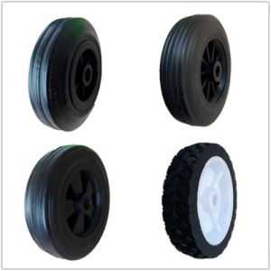 5 Inches Small Size Solid Rubber Wheel pictures & photos
