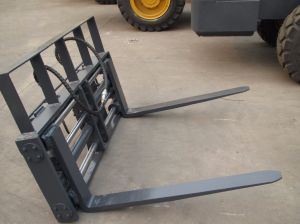Wheel Loader Attachment---Pallet Fork pictures & photos