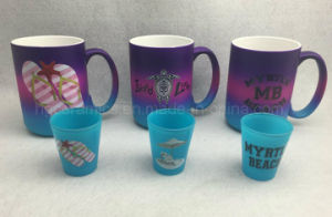 Color Spray Mug, Neon Color Mug, Promotional Mug pictures & photos